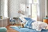 Esprit Home I Kuscheliger Kinderteppich I Han ESP-4270-01 I (140 x 200 cm, Blau)