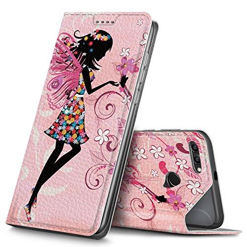 GeeMai Wiko Tommy 3 Hülle, Premium Flip Case Tasche Cover Hüllen mit Magnetverschluss [Standfunktion] Schutzhülle Handyhülle für Wiko Tommy 3 Smartphone, CH06
