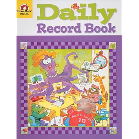 Daily Record Book: Animal Academy