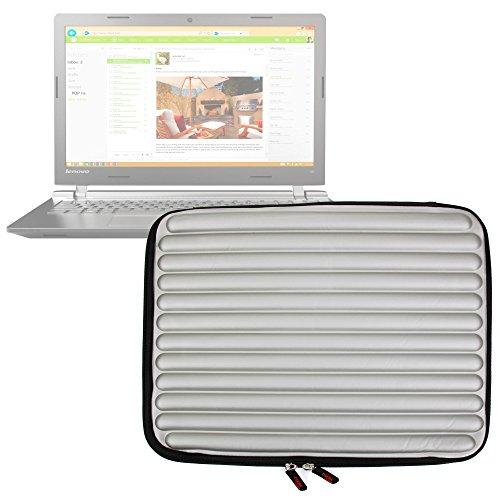 Funda Gris Con Espuma de Memoria 'Memory Foam' Para Portátil Acer ES1-523 694D , Acer Extensa 2540 / Lenovo 320 15IKBN , Ideapad 110 15IBR , 110 15ISK / Toshiba Satellite Pro R50 C-15P - ¡Protección Ideal! - DURAGADGET