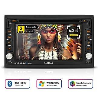 NEOTONE-NDX-300W-Navigation-mit-Europakarten-2019-universelles-2DIN-Autoradio-62-Zoll-Radarwarnsystem-Bluetooth-Touchscreen-DVD-Player-16GB-MicroSD-inklusive