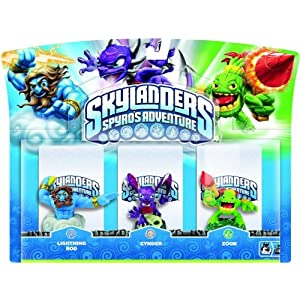 Skylanders – Triple Pack A: Drobot, Stump Smash, Flameslinger