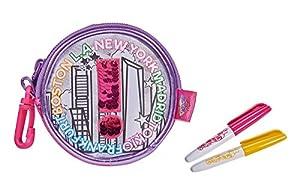 Simba 106374261-Color Me Mina Swap Wallet para Pintar/Nuevo con Reversible de Moda Lentejuelas