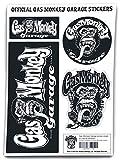 Gas Monkey Garage Sticker Aufkleber-Set Standard