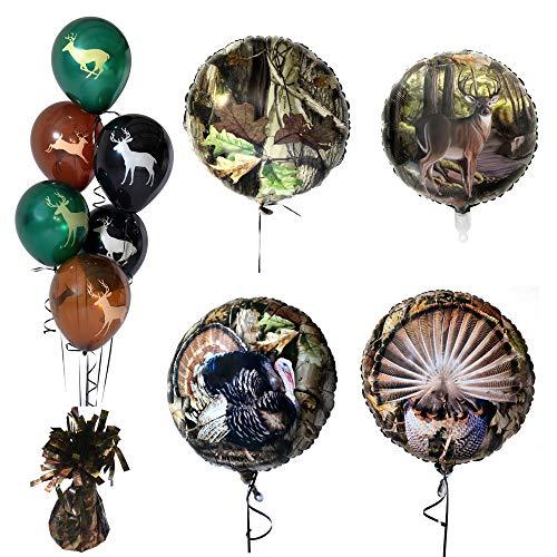 Größe Kostüm Plus Boxer - Havercamp Ballon-Set Next Camo Ballon, Ballongewicht, ideal für Jagdpartys, Outdoor-Enthusiasten, Naturliebhaber, Camouflage-Motto