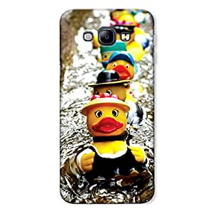 CrazyInk Premium 3D Back Cover for Samsung A8 2015 - Toys on Water