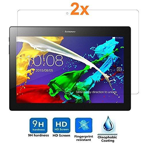 "pellicola tablet 10.1 lenovo Pack 2X Pellicola salvaschermo per Lenovo Tab 2 A10-30 10.1"" / Lenovo Tab 2 A10-70 10.1"""