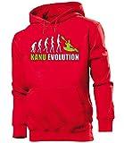 Kanu EVOLUTION 5907 Herren Hoodie (HKP-R-Weiss-Grün) Gr. L
