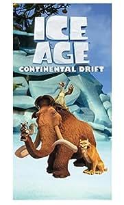 ICE AGE - L'AGE DE GLACE DRAP DE PLAGE SERVIETTE DE BAIN 150x75 NOUVEAUTE
