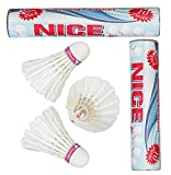 #8: VOXAMIN NC-10 Nice Strong Feather Badminton Shuttlecocks Pack of Two Boxes ( 10 Shuttlecocks in Every Box).