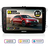 Autoradio Android Neotone WRX-980A für VW/Skoda/Seat, GPS Navigation, 8 Zoll, DVD, DAB+ Unterstützung, USB, Octa-Core, 4K Ultra HD Video, WLAN, Bluetooth, MirrorLink, RDS