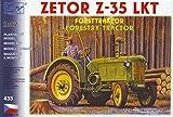 Modellbau Kunststoff Modellbausatz SDV 1:87 H0 Historischer Traktor Zetor 35 LKT Forstwirtschaft Fahrzeuge Ostblock DDR