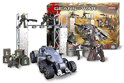 Meccano Gears of War Locust Vs Delta Squad Battle Set