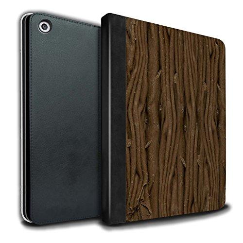 STUFF4 PU-Leder Hülle/Case/Brieftasche für Apple iPad 9.7 (2017) tablet / Flocke Muster / Schokolade Kollektion (Flocken Essen)