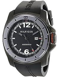Tommy Hilfiger Herren-Armbanduhr Analog Quarz Silikon 1791114