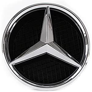 Mercedes benz 2011 2015 led white emblem light front car for Mercedes benz glowing star