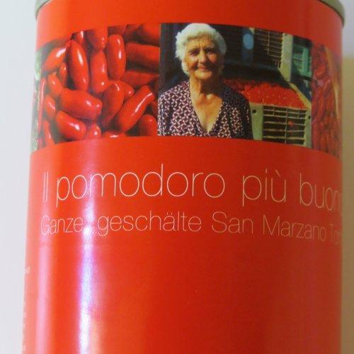 San Marzano Tomaten - 400g Dose - Abtropfgewicht: 260g geschält - AB 30,- EURO VERSANDKOSTENFREI in D!