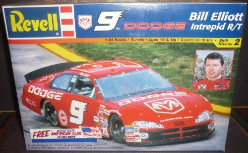 Revell 9 Dodge Intrepid R/T Bill Elliott Racing Car 1:24 Model Kit by Revell (Elliott-dodge Racing Bill)