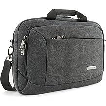 "Evecase 13.3"" 14"" Laptop Business Tela Viaggio Custodia Borsa Messaggero"