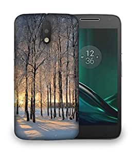 Snoogg House At Night Designer Protective Phone Back Case Cover For Motorola Moto G4
