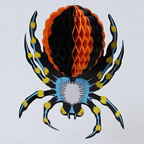 Vogelscheuche Sie Eine Kostüm Machen (Zantec Halloween Dreidimensionale Spinne Dekorationen Stützen Ornamente Hängende Ornamente)