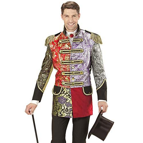 WIDMANN 59263 Herren Mantel Jaquard Patchwork Parade kostüm, L, L
