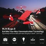 Jasnyfall MJX Bugs 8 Pro B8 PRO 5,8G 720 P FPV Kamera Brushless Motor RC Racing Drone