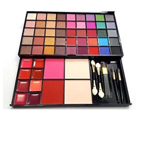 Hilary Rhoda Makeup Kit All In One Eye Shadow Blush Face Powder Lipstick Brushes Kit Buy