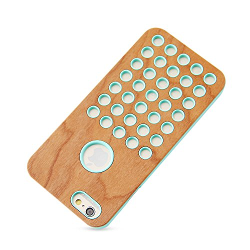 "Coque Iphone 6S, Belk série ""Milan ruche en bois panneaux Armour Coque arrière iPhone 6/iPhone 6S Housse de protection, Birch cellular, iPhone 6 / 6S plus - 5.5"" Maple cellular"
