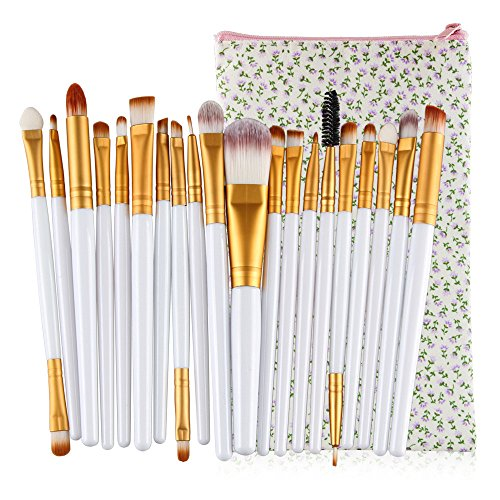 20pcs Kosmetik Make-up Pinsel-Set professionellen Kosmetik Set Kit Foundation Puder Lidschatten Face...