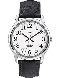 Timex Herren-Armbanduhr Weis Quarz Leder T20501D7
