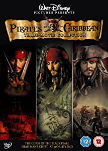 Pirates Of The Caribbean Trilogy [DVD]