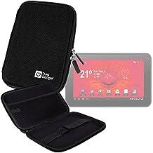 "DURAGADGET Funda Rígida Negra Para Tablet Woxter Dx 70 / Moonar Allwinner A13 9"" - Para Proteger Su Dispositivo De Golpes"