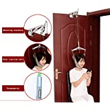 HSDMF Over-Door Cervical Traction - Care Neck Traction Device Effectively Relieve Pain Simple Operation, Free Adjustment