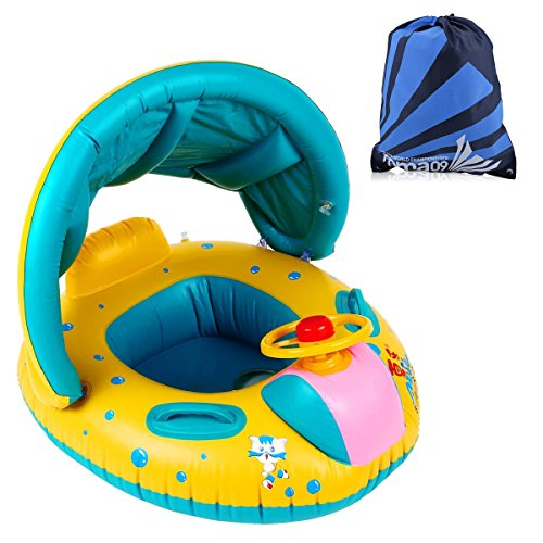 bou e b b fochea flotteur gonflable avec sac de rangement pour enfant de 7 mois 4 ans moins. Black Bedroom Furniture Sets. Home Design Ideas