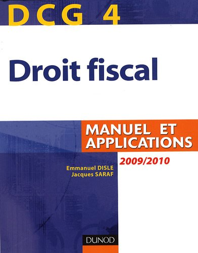 Droit fiscal DCG4 : Manuel et applications