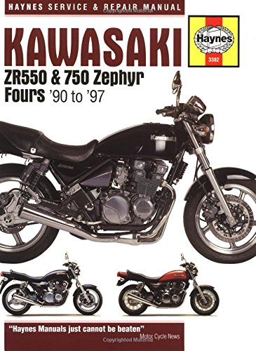 Kawasaki ZR550 and 750 Zephyr Fours '90 to '97 (Haynes Manuals)