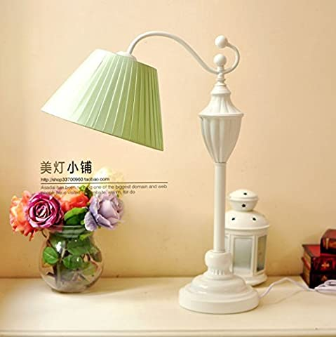 DIDIDD Lampe de plafond lampe littérature mixte continentale et lampes art déco,Menthe verte