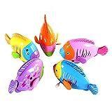 Isuper Uhrwerk Spielzeug, Aufziehspielzeug Fisch Niedlicher Bewegender Fisch Neuheit Wind up Spielzeug Kinder Geschenk