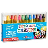 Dress Up America 12 Couleur Visage Sûr & Non-Toxique Crayons Visage et Corps - Maquillage d'Halloween