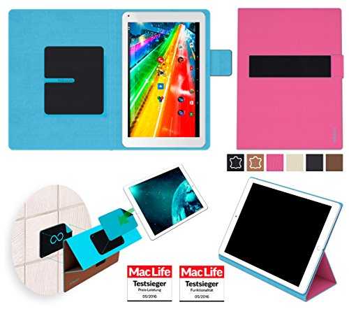 reboon Archos 101c Platinum Hülle Tasche Cover Case Bumper | Pink | Testsieger
