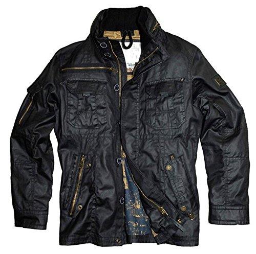 Preisvergleich Produktbild Nagano Herren Jacke Parka Farbe black Modell Fudo Größe S