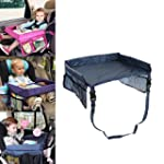 Car Tray Table For Kids Waterproof Ad...