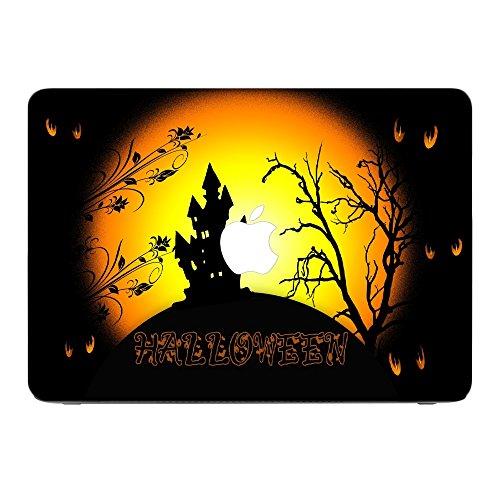 loss, Skin-Aufkleber Folie Sticker Laptop Vinyl Designfolie Decal mit Ledernachbildung Laminat und Farbig Design für Apple MacBook Pro Retina 13