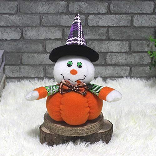 Wohnzimmer CX189005 Halloween-Kürbis-Puppe Partei Prop Dekoration (Hexe) Innendekoration Kinderzimmer (Farbe : Ghost)