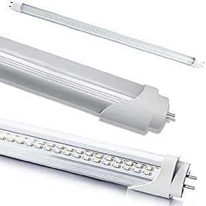 Lot de 10 tubes n on led smd 120 cm transparents for Luci a tubo led