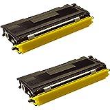 TN2000 Printing Saver pack de 2 cartuchos de toner laser BROTHER DCP-7010, DCP-7010L, DCP-7020, DCP-7025, FAX-2820, FAX-2920, HL-2030, HL-2032, HL-2040, HL-2050, HL-2070, HL-2070N, HL-6050D, HL-6050DN, MFC-7220, MFC-7225N, MFC-7420, MFC-7820, MFC-7820NE impresoras