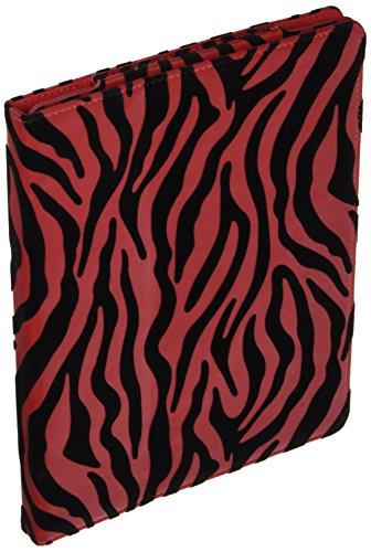 THE NEW IPAD? / 3 / 2 STAND POUCH W/ SLEEPER FUNCTION BLACK+RED ZEBRA-IPOD:LPID2STDSLPRDZ Zebra Ipod Fall