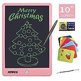 NOBES Tableta de Escritura LCD 10 Inch, LCD Tablero de Dibujo Gráfica, Pizarra Magica para niños, Juguetes Educativo, Mensaje Doodle Pad Electrónico, para Niños, Clase, Oficina, Casa (Rosa Claro)