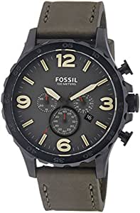 Fossil End of Season Nate Analog Grey Dial Men's Watch - JR1476